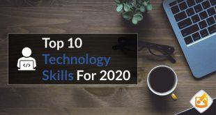 10 مهارت برتر تکنولوژی در سال 2020